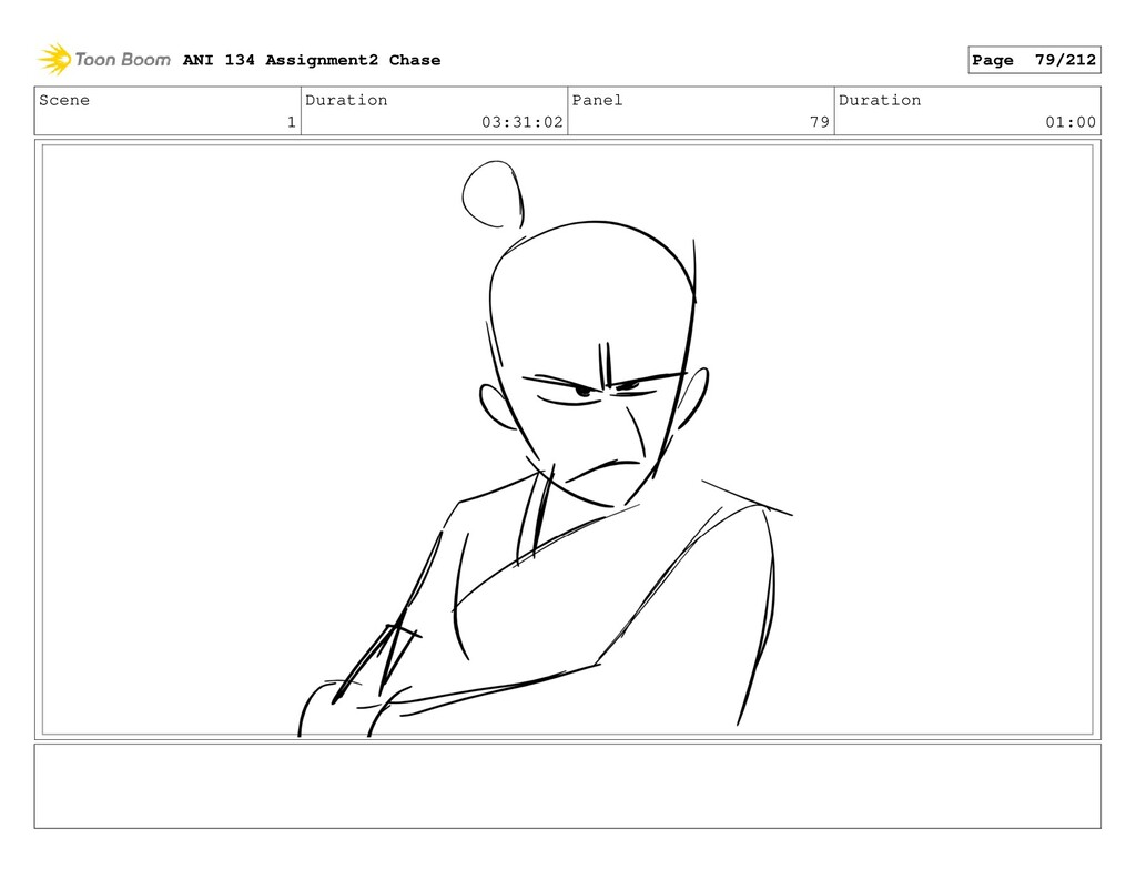 Scene 1 Duration 03:31:02 Panel 79 Duration 01:...