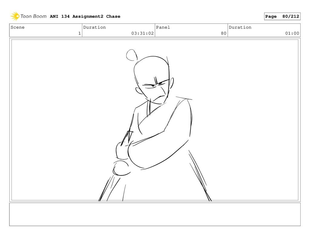 Scene 1 Duration 03:31:02 Panel 80 Duration 01:...