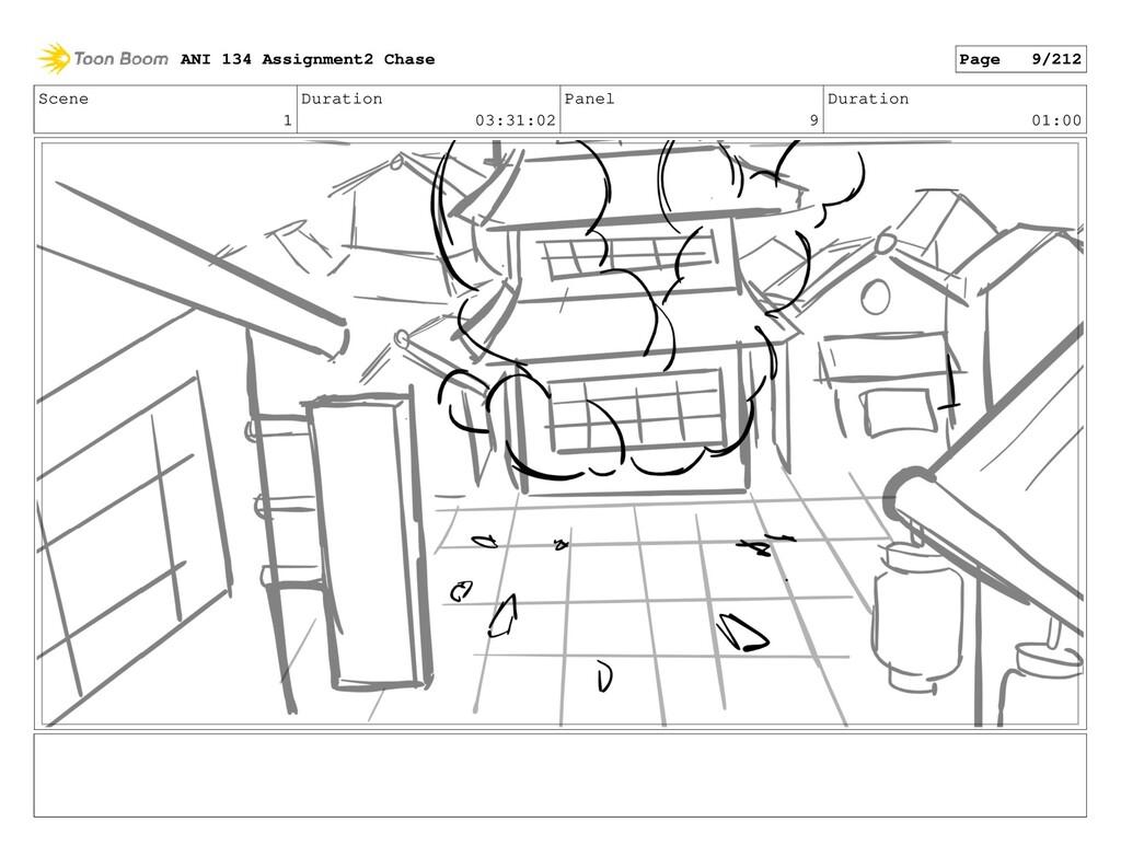 Scene 1 Duration 03:31:02 Panel 9 Duration 01:0...