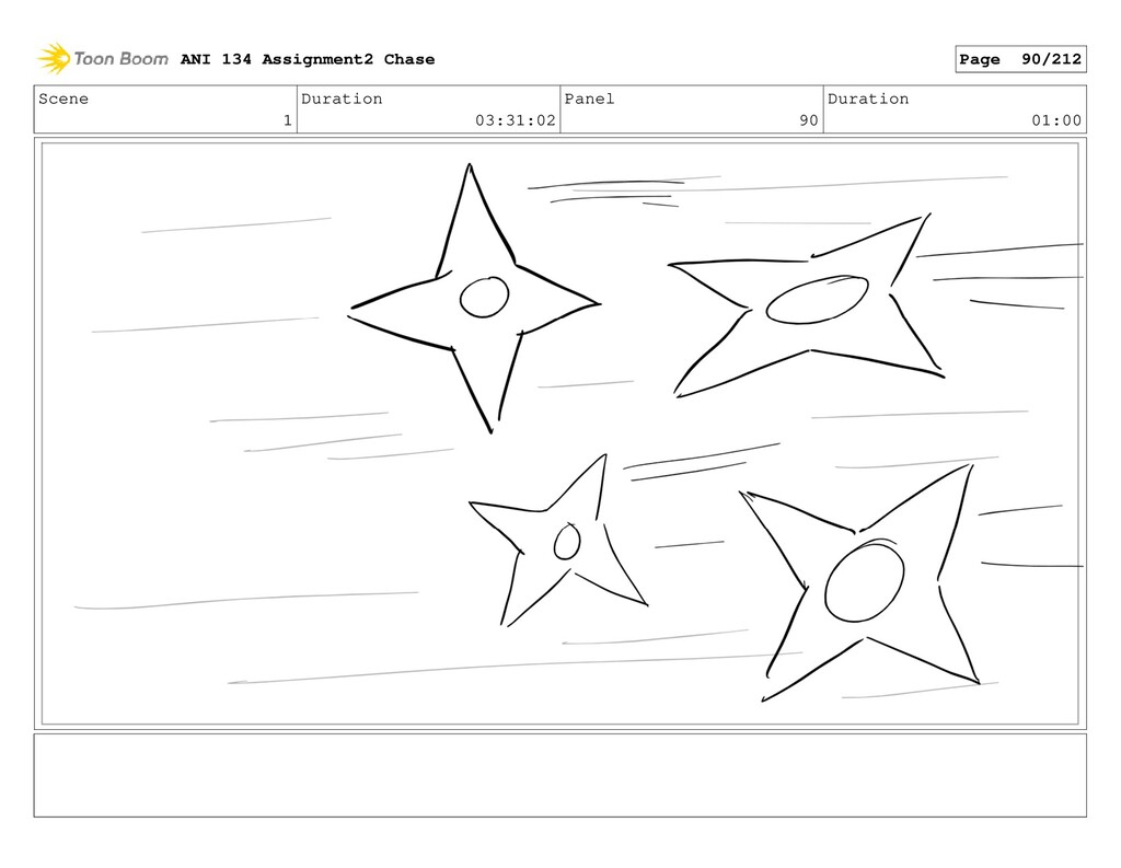 Scene 1 Duration 03:31:02 Panel 90 Duration 01:...