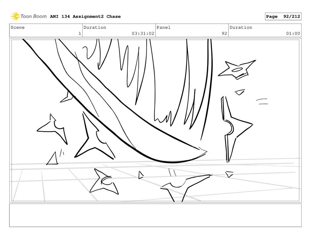 Scene 1 Duration 03:31:02 Panel 92 Duration 01:...