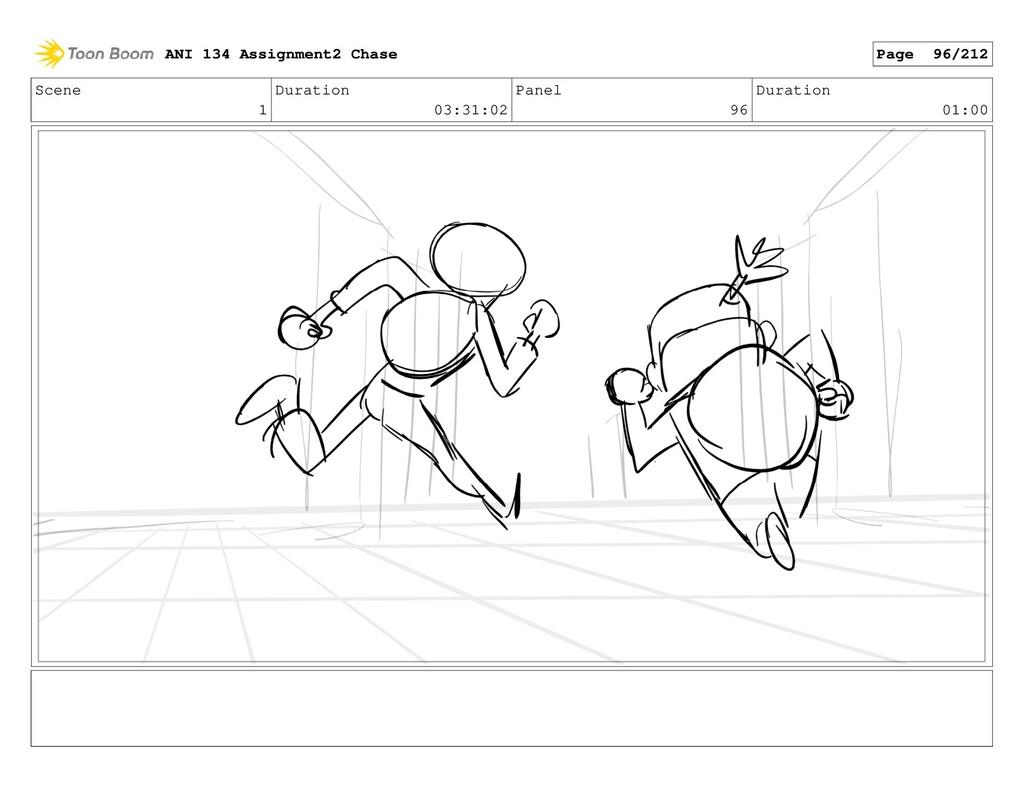 Scene 1 Duration 03:31:02 Panel 96 Duration 01:...