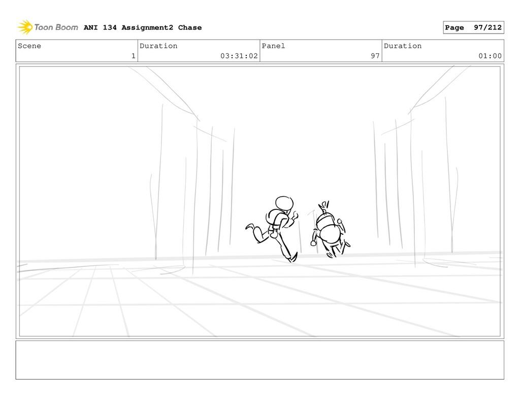 Scene 1 Duration 03:31:02 Panel 97 Duration 01:...