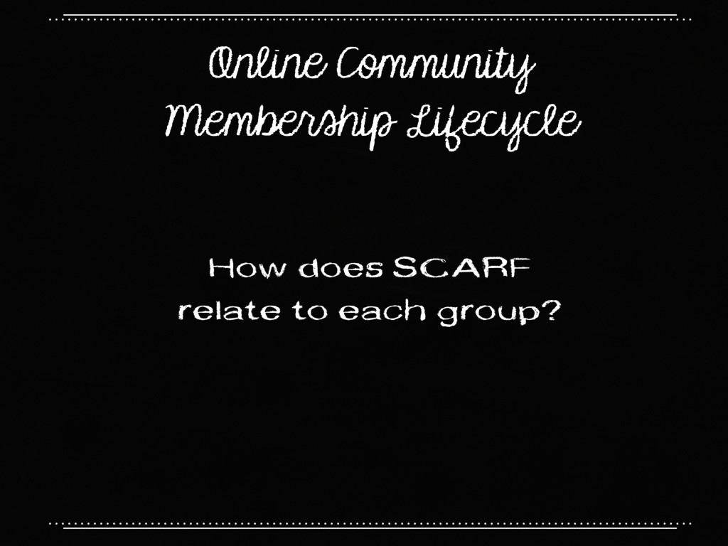 Online Community Membership Lifecycle How does ...
