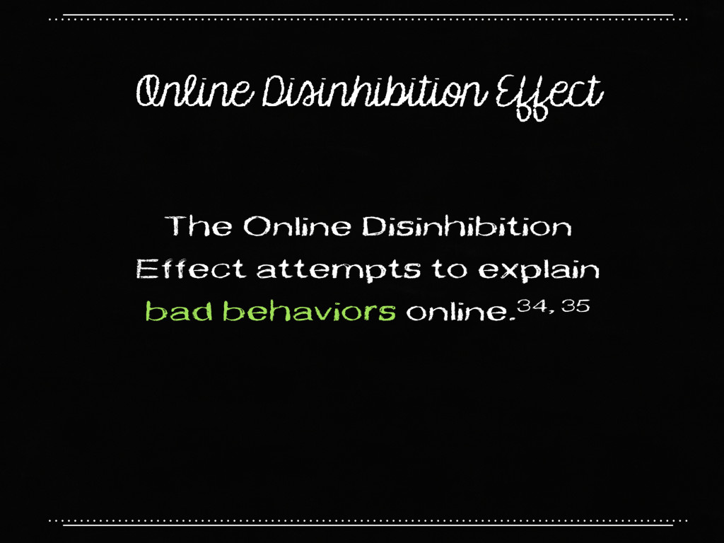 Online Disinhibition Effect The Online Disinhib...