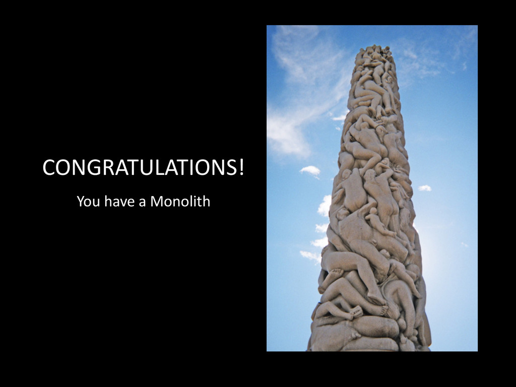 CONGRATULATIONS! You	