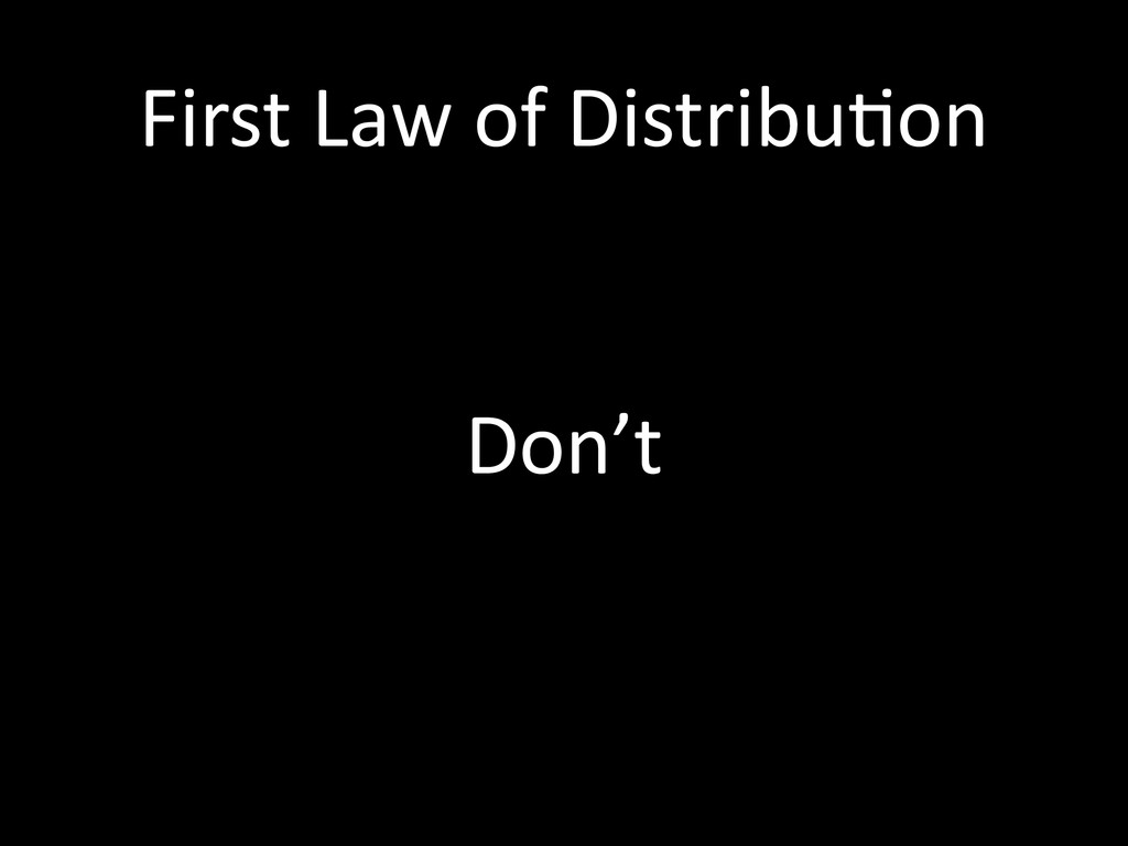 First	
