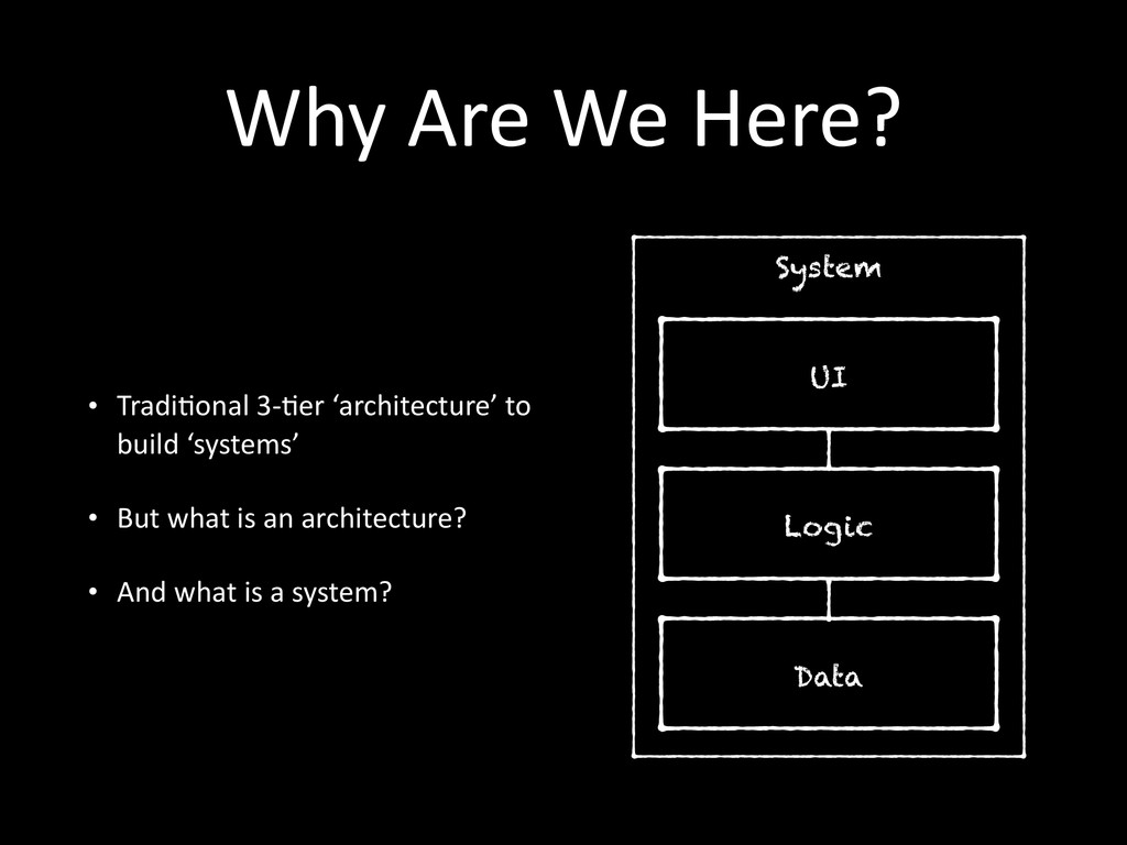 System Why	