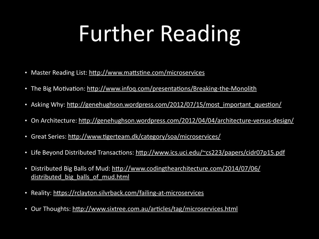 Further	