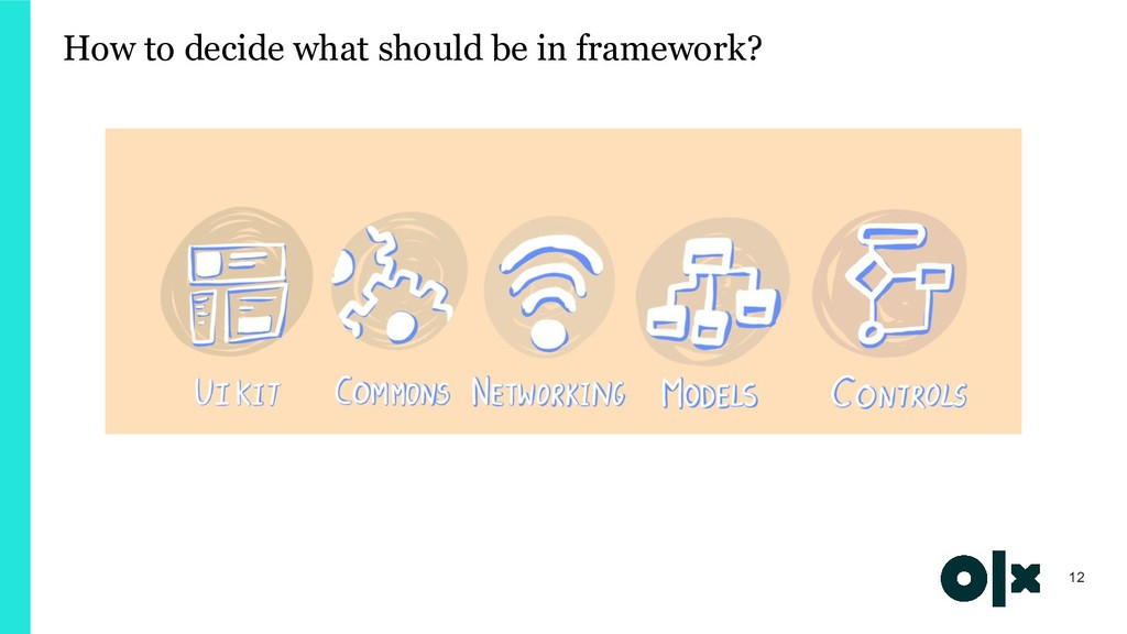 How to decide what should be in framework? 12
