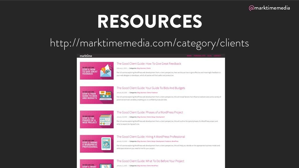 @marktimemedia RESOURCES http://marktimemedia.c...