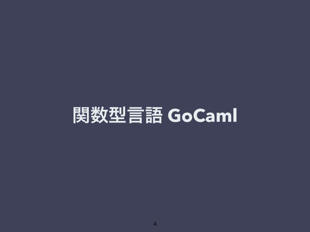ؔܕݴޠ GoCaml