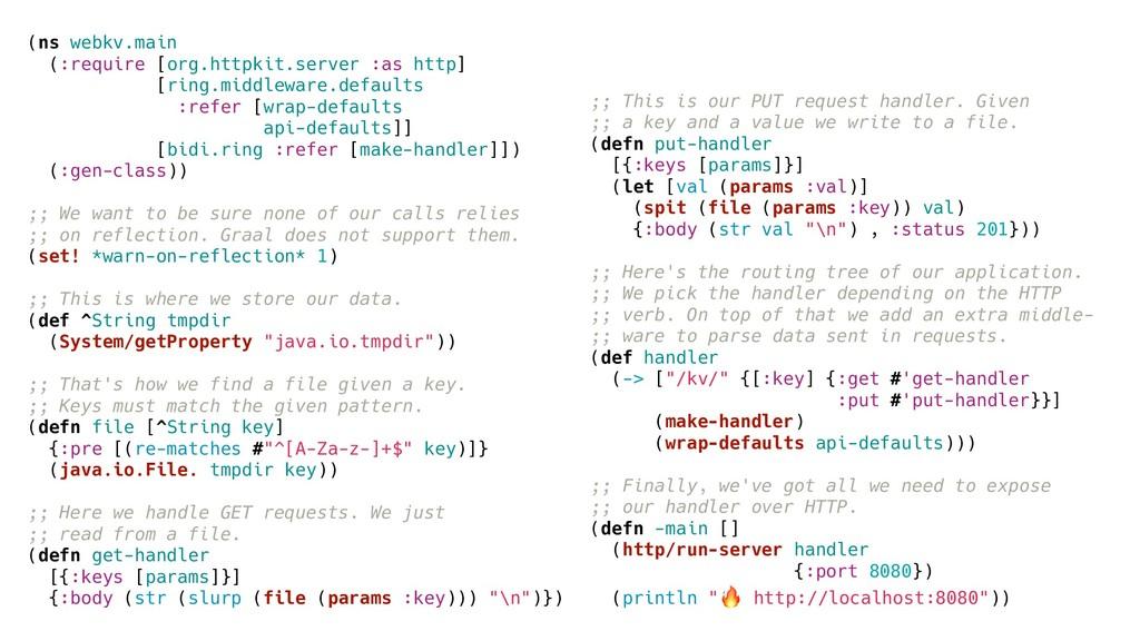 (ns webkv.main (:require [org.httpkit.server :a...
