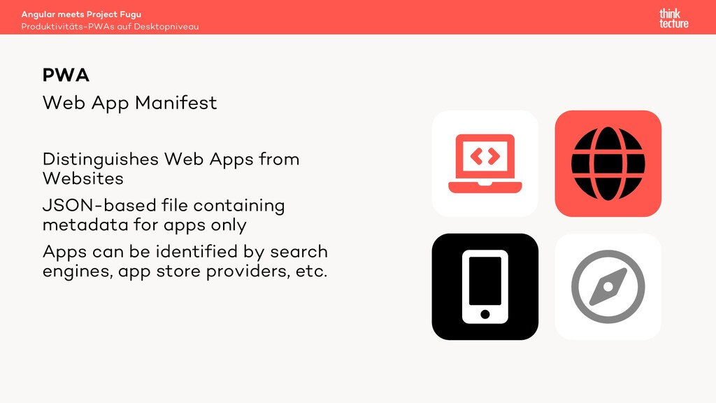 Web App Manifest Distinguishes Web Apps from We...