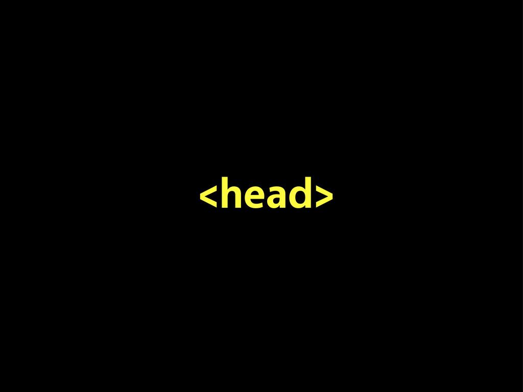 <head>