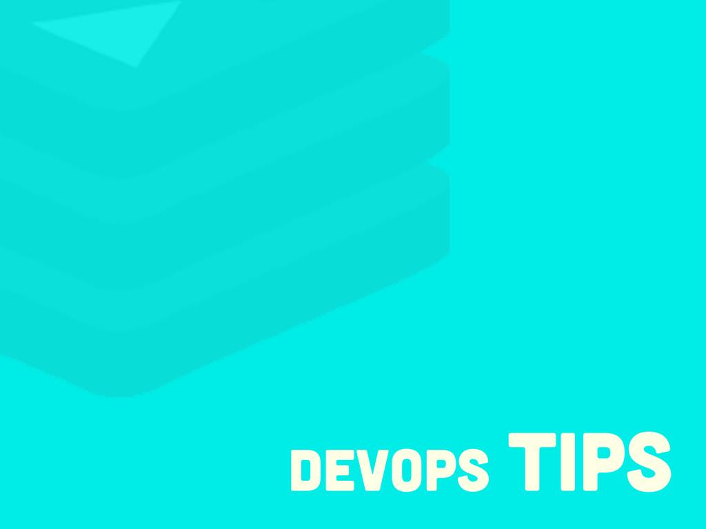 devops tips