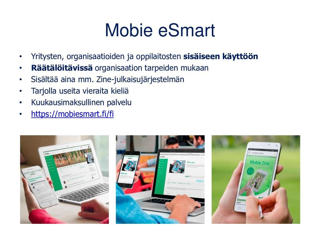 Mobie eSmart • Yritysten, organisaatioiden ja o...