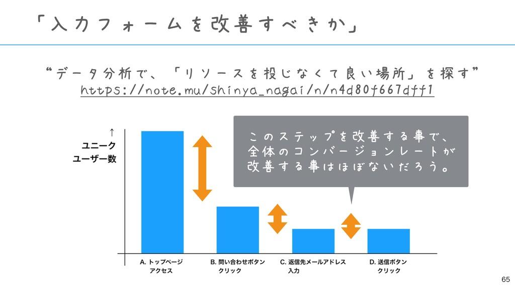 """""""データ分析で、「リソースを投じなくて良い場所」を探す"""" https://note.mu/sh..."""