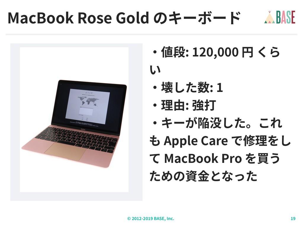 © - BASE, Inc. MacBook Rose Gold : 120,000 : 1 ...