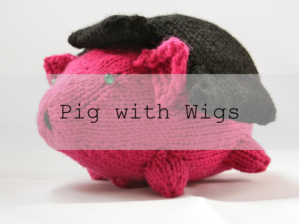 Pig with Wigs