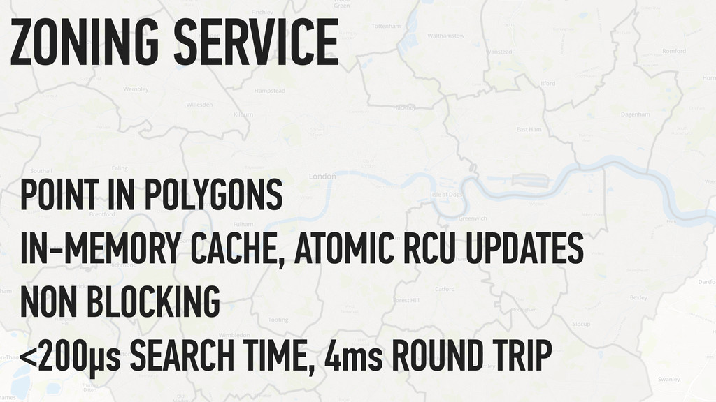 POINT IN POLYGONS IN-MEMORY CACHE, ATOMIC RCU U...