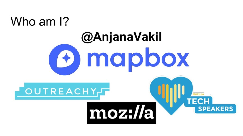 Who am I? @AnjanaVakil
