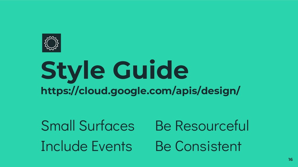 Small Surfaces Include Events Style Guide https...