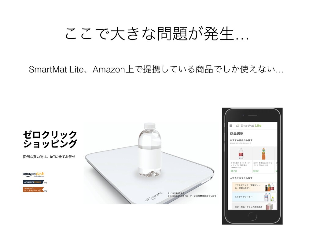 ͜͜Ͱେ͖ͳ͕ൃੜ… SmartMat LiteɺAmazon্Ͱఏܞ͍ͯ͠ΔͰ͔͠...