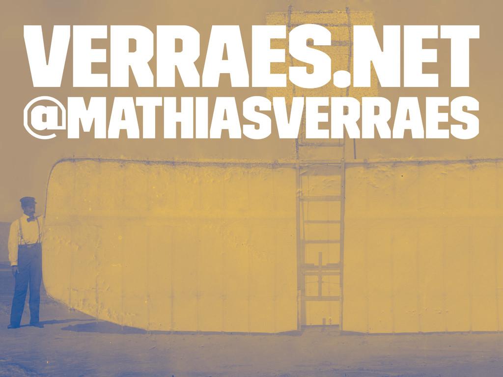 verraes.net @mathiasverraes