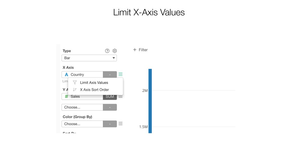 Limit X-Axis Values