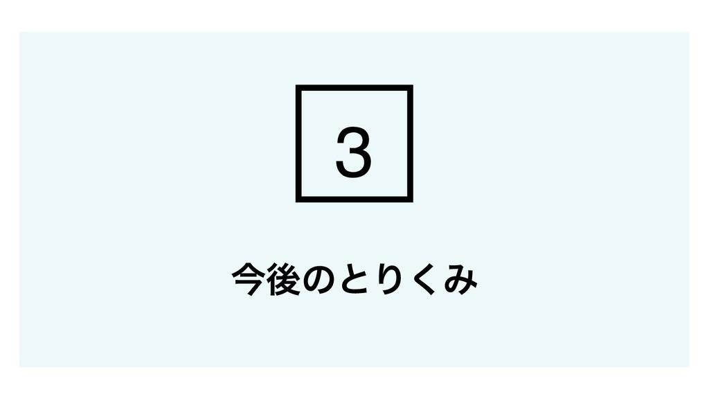 ࠓޙͷͱΓ͘Έ 3
