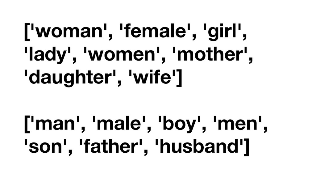 ['woman', 'female', 'girl', 'lady', 'women', 'm...