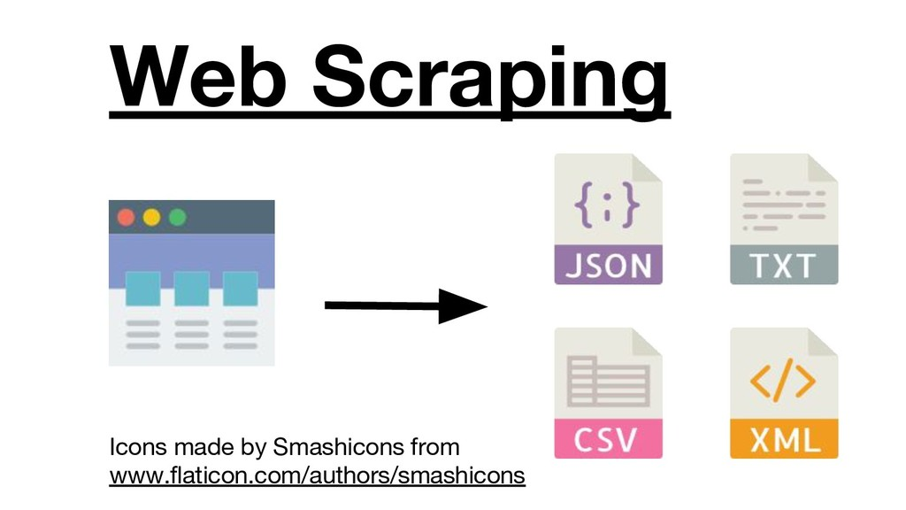 Web Scraping Icons made by Smashicons from www....