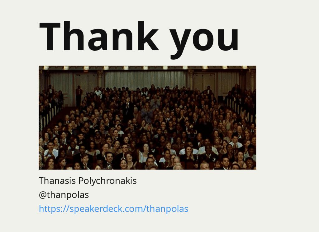 Thank you Thanasis Polychronakis @thanpolas htt...