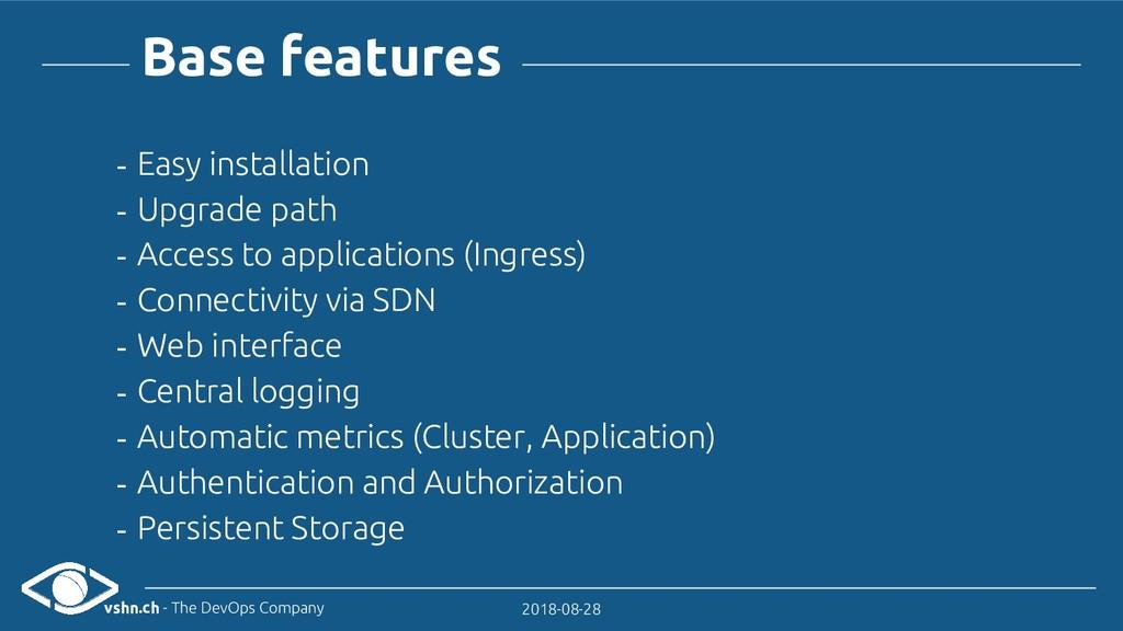 vshn.ch - The DevOps Company 2018-08-28 - Easy ...