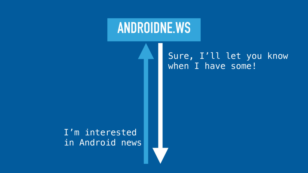 ANDROIDNE.WS Sure, I'll let you know when I hav...