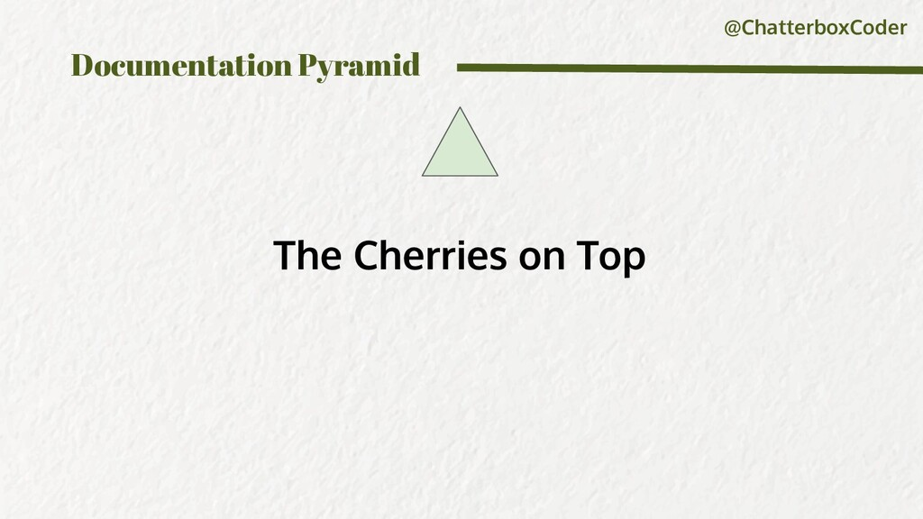 @ChatterboxCoder Documentation Pyramid The Cher...