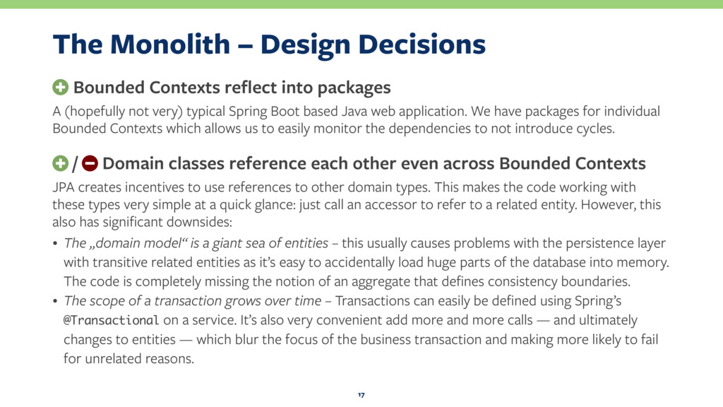 The Monolith – Design Decisions + Bounded Conte...