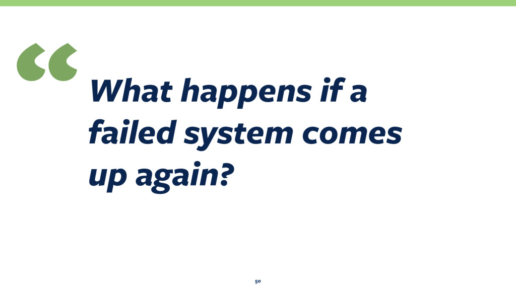 What happens if a