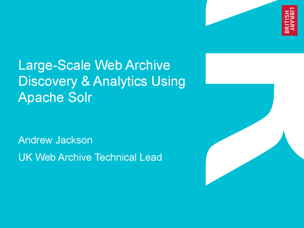 Large-Scale Web Archive Discovery & Analytics U...