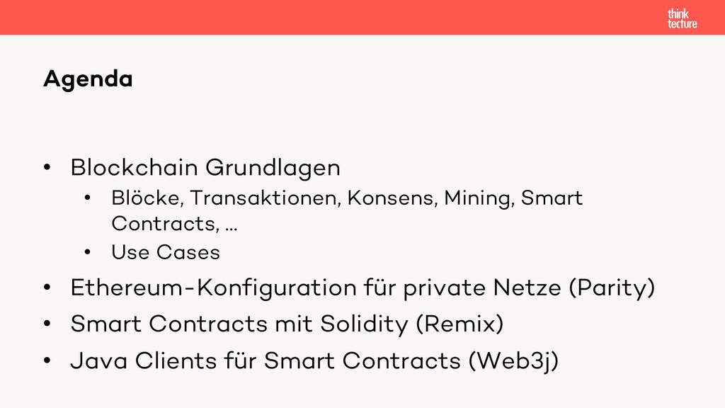 • Blockchain Grundlagen • Blöcke, Transaktionen...
