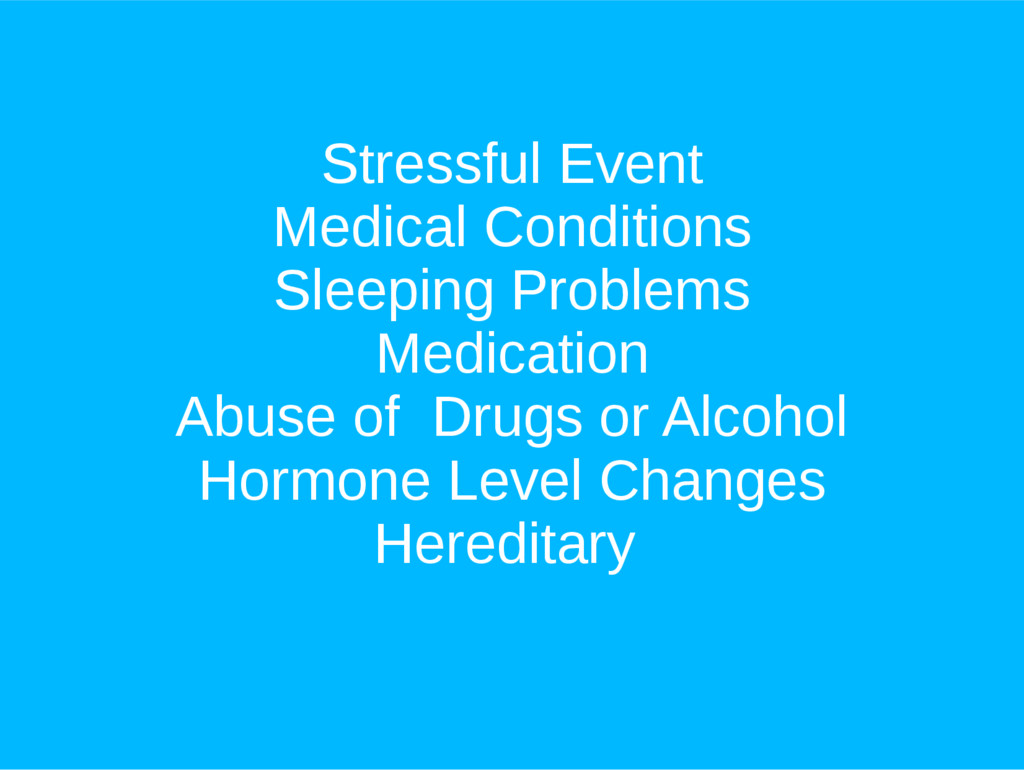 Stressful Event Medical Conditions Sleeping Pro...