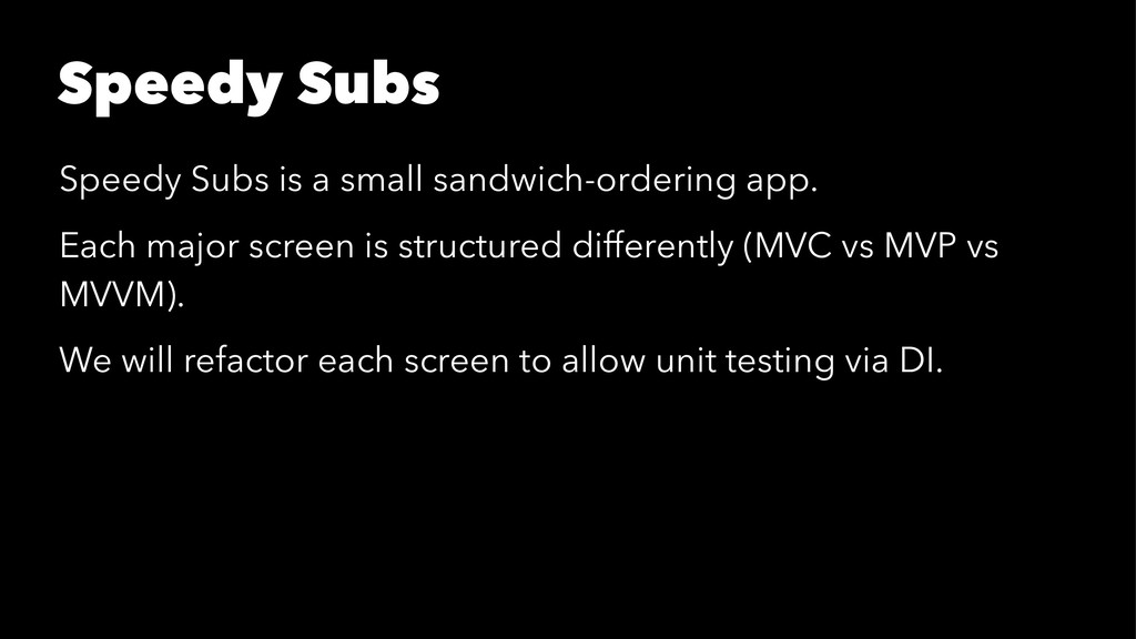 Speedy Subs Speedy Subs is a small sandwich-ord...