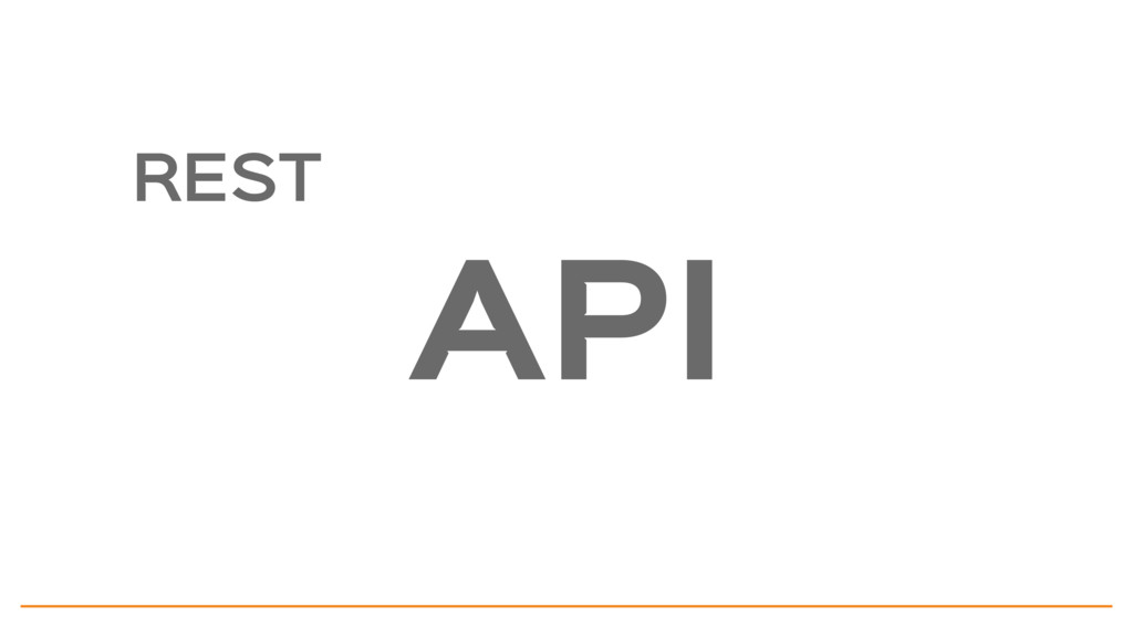 API REST