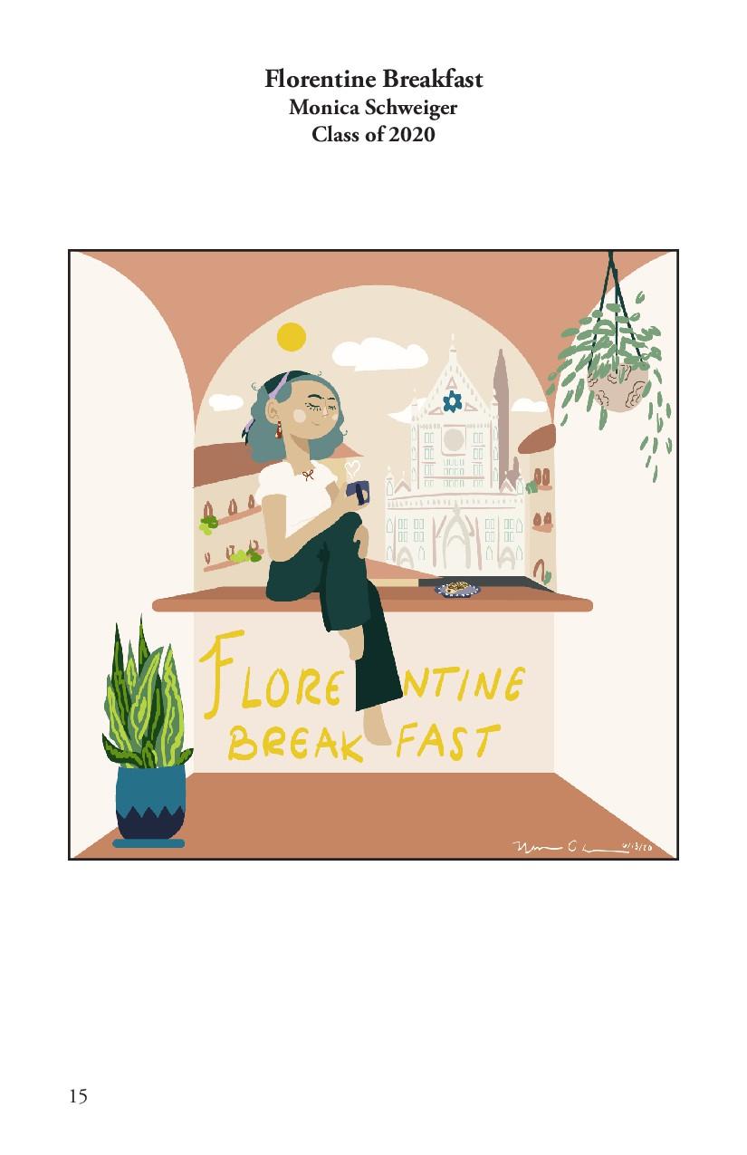 Florentine Breakfast Monica Schweiger Class of ...