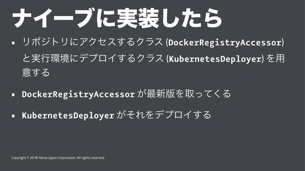 φΠʔϒʹ࣮ͨ͠Β • ϦϙδτϦʹΞΫηε͢ΔΫϥε (DockerRegistryAcc...