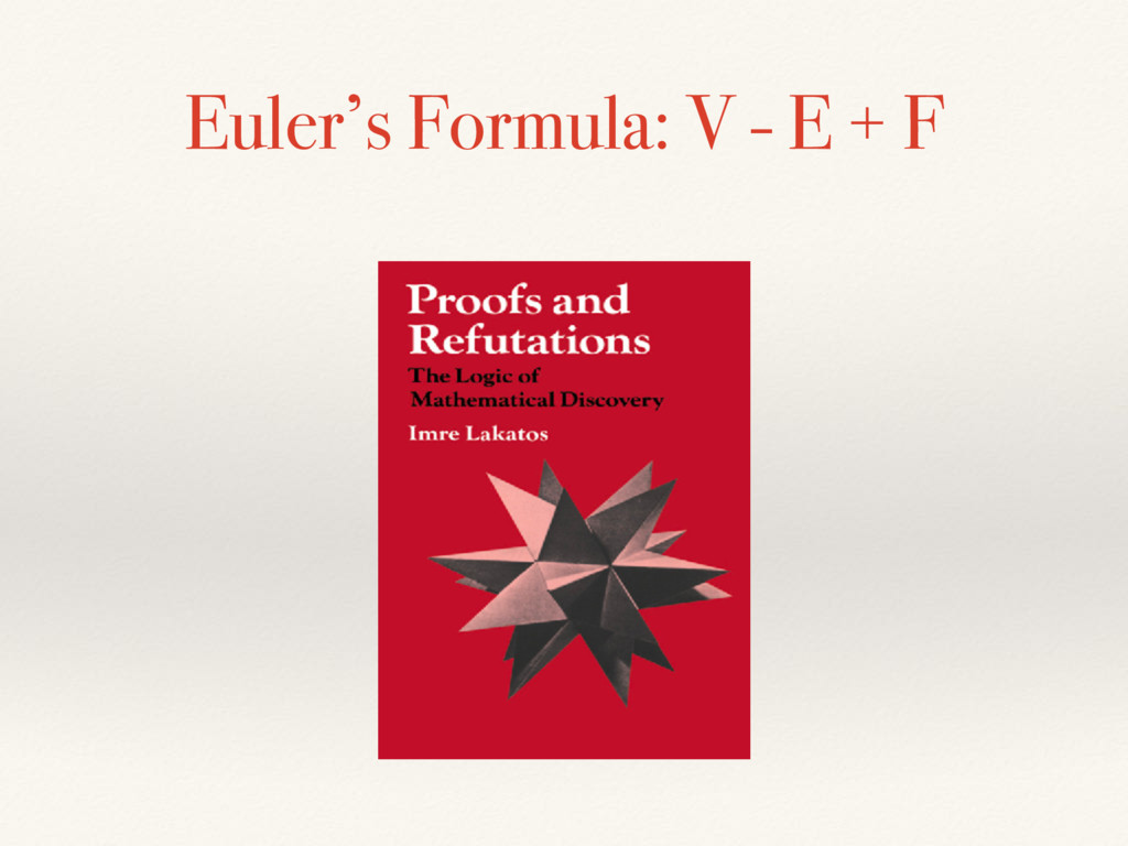 Euler's Formula: V - E + F