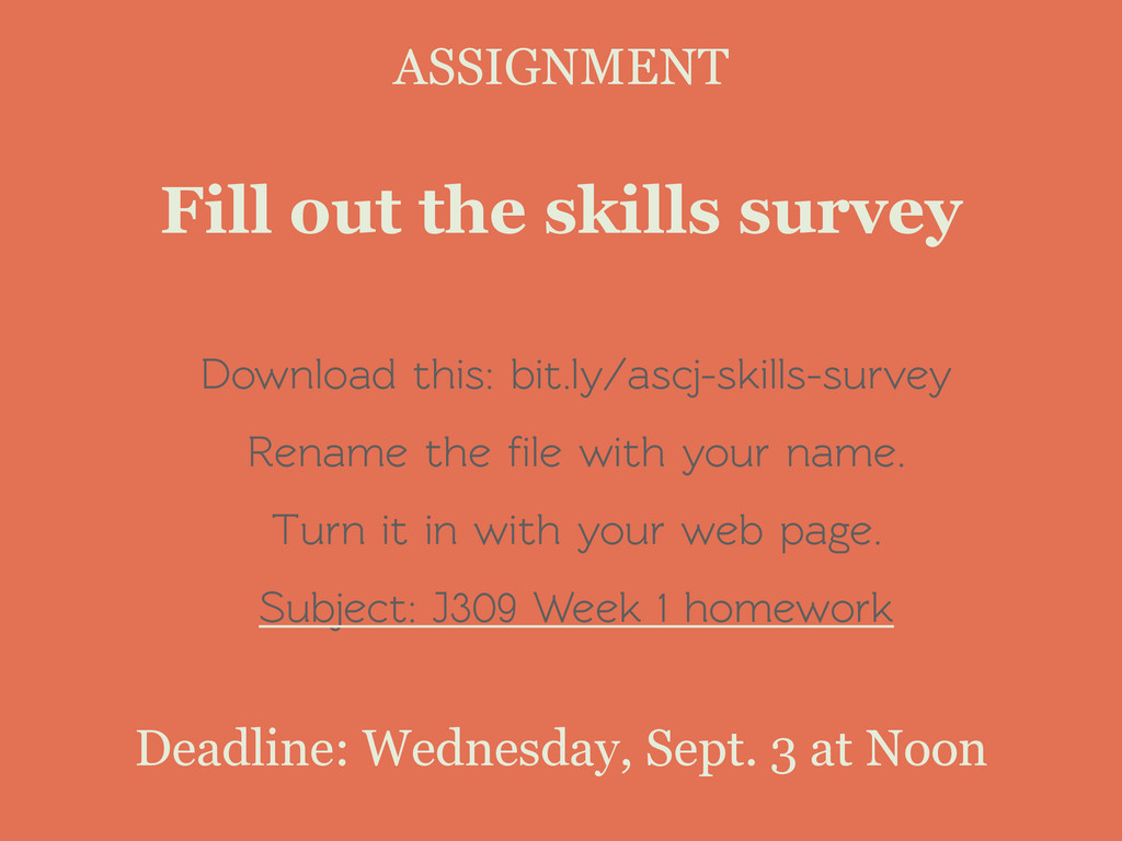 Download this: bit.ly/ascj-skills-survey Rename...