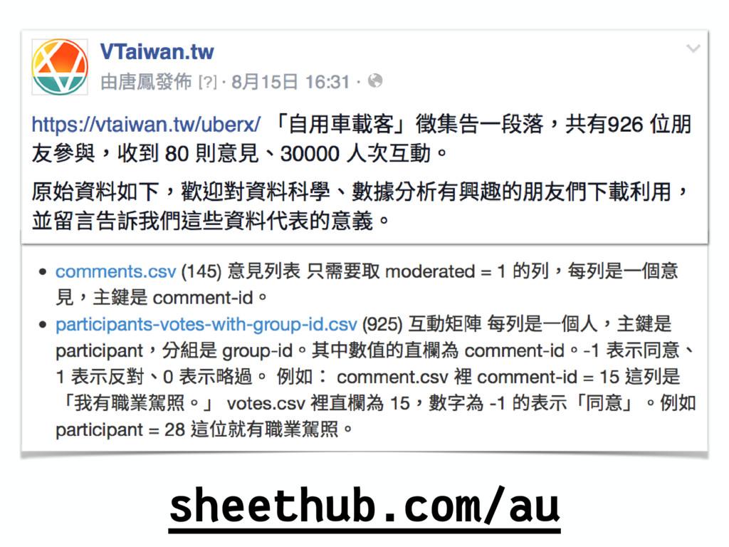 sheethub.com/au