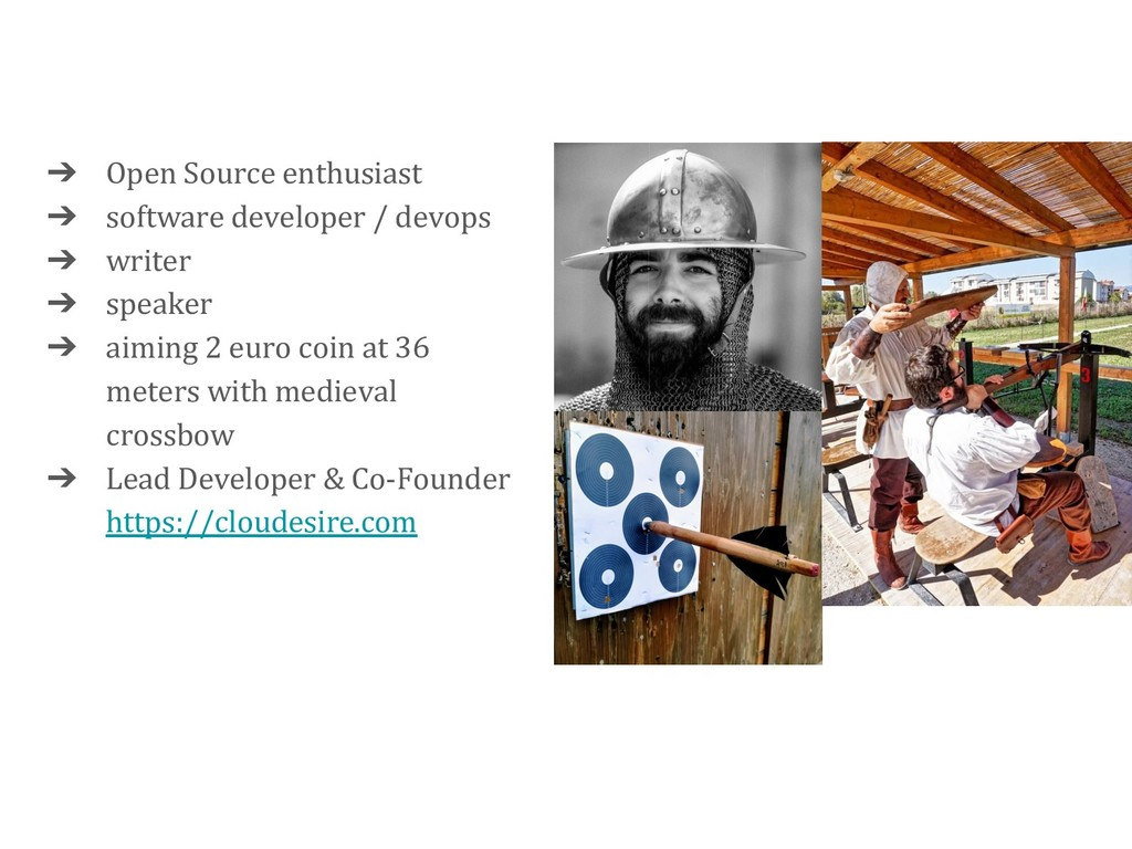 ➔ Open Source enthusiast ➔ software developer /...
